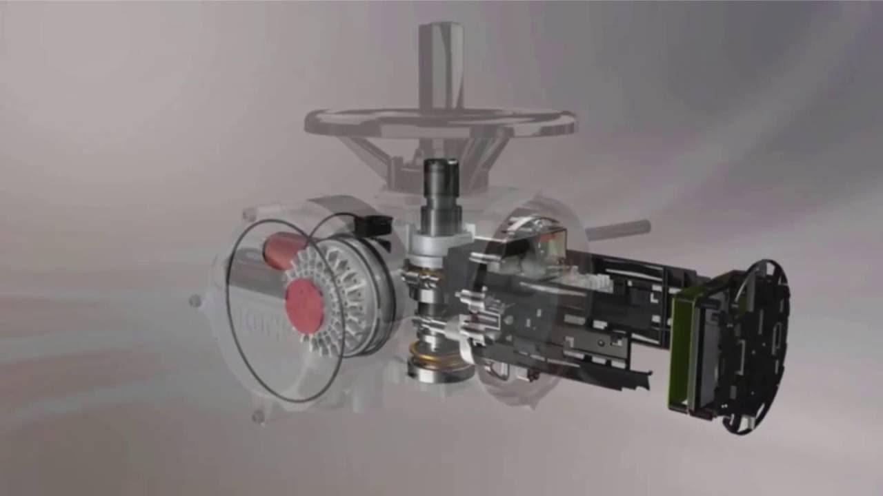 Rotork Iq3 Electric Actuator Inner Workings