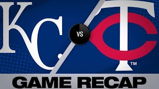Kepler, Gonzalez power Twins to 5-4 win   Royals-Twins Game Highlights 6/15/19