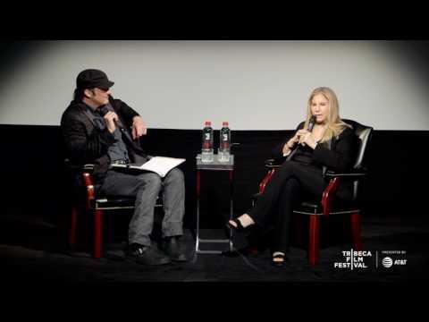 2017 Tribeca Talks: Storytellers Series - Barbra Streisand on holding notes with Robert Rodriguez