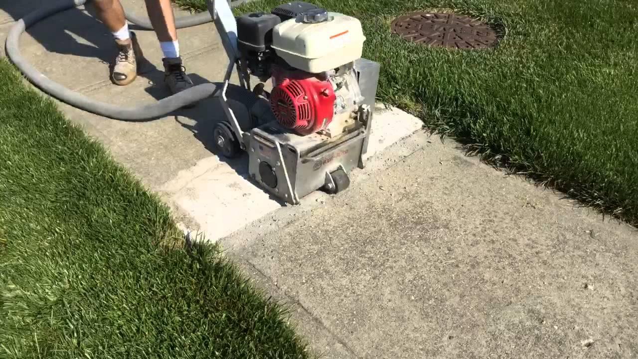 Sidewalk Trip Hazard Repair