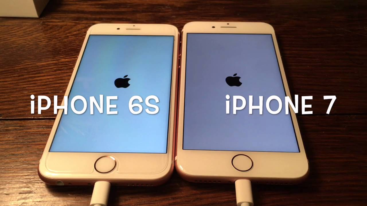 iphone 6s vs iphone 7 network