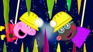 Peppa Pig Full Episodes | Caves | Cartoons for Children