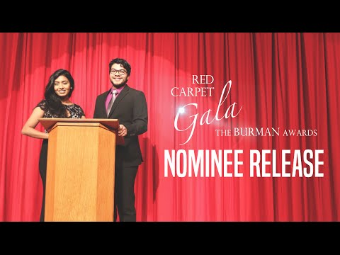 Red Carpet Gala: The Burman Awards Nominee Release