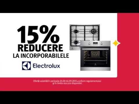 Reclamă ALTEX Electrolux - august 2015