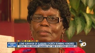 Local civil rights leaders honor lone survivor of 1963 church bombing