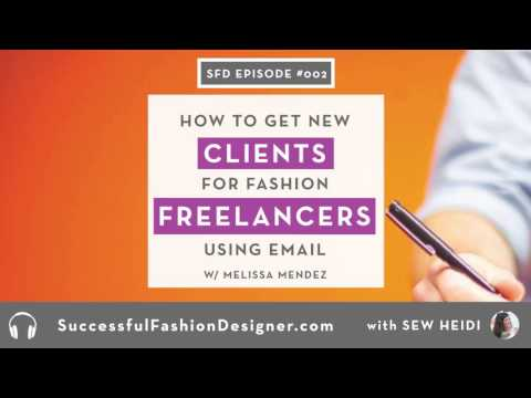 SFD 002: Using Email to Successfully Pitch Freelance Clients with Melissa Mendez