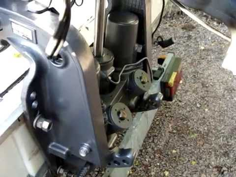 Yamaha outboard power trim tilt how to protect for Yamaha f150 lower unit oil