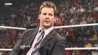 Chris Jericho tells Michael Cole to shut up