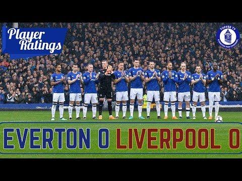 Everton 0-0 Liverpool | Merseyside Derby | Player Ratings
