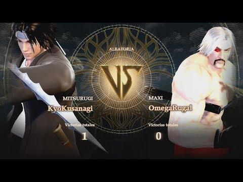 The Souls Of Fighters (SoulCalibur VI X KOF) - Kyo Kusanagi Vs Omega Rugal V2