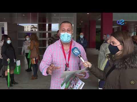 Nueva concentración en el Hospital Universitario