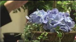 Floral Arrangements : How To Make A Topiary For A Mantle