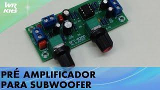 PrÉ Amplificador Para Subwoofer