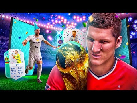 OMG FUT BIRTHDAY 88 SCHWEINSTEIGER & POLDI! THE BEST GERMAN TEAM EVER?! FIFA 18 ULTIMATE TEAM