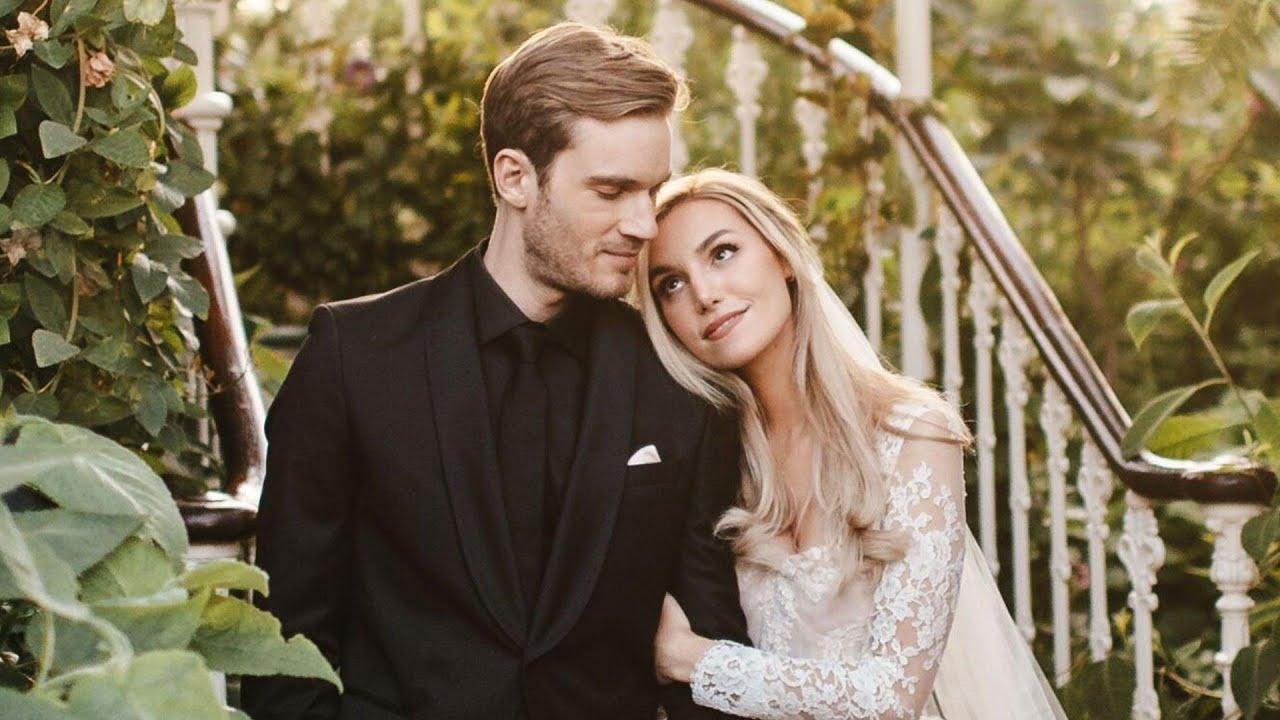 YouTuber PewDiePie marries girlfriend Marzia Bisognin
