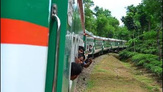 ???? Train Journey ???????? Bangladesh | Travel with Luxury Parabat Express 710 | Sylhet to Kulaura