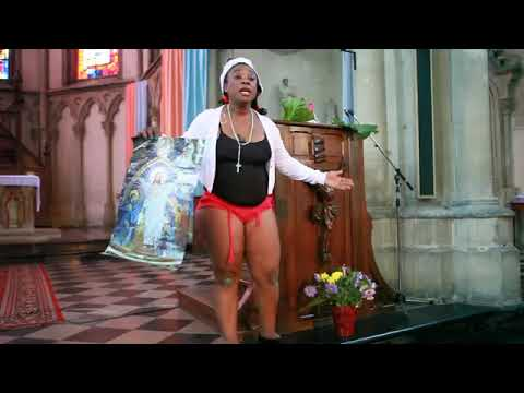 """Cameroonian Musician Claris Valerie AKA """"Wopso"""" Appears In Church Almost Naked"""