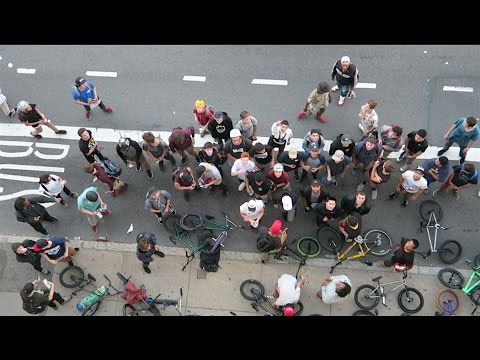 INSANE ROOF DROP AT BOSTON BMX JAM!
