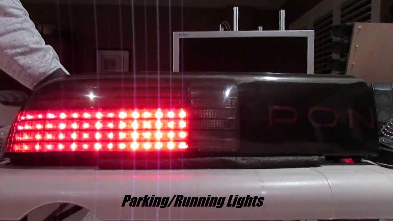 Tail Light Wiring Diagram 1986 Fiero Gt Basic Guide Fuse Box Pontiac Fastback Led Lights Sequential Youtube Rh Com Dash 84 Diagrams