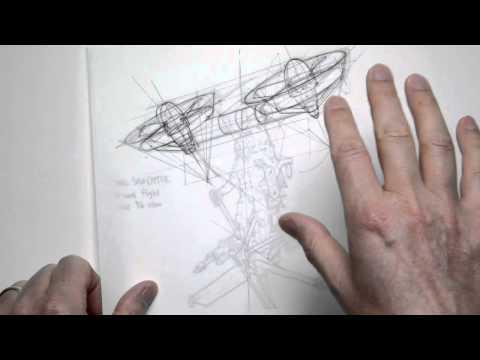 design sketching vs. illustration