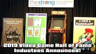 World Video Game Hall of Fame Inductees Announced