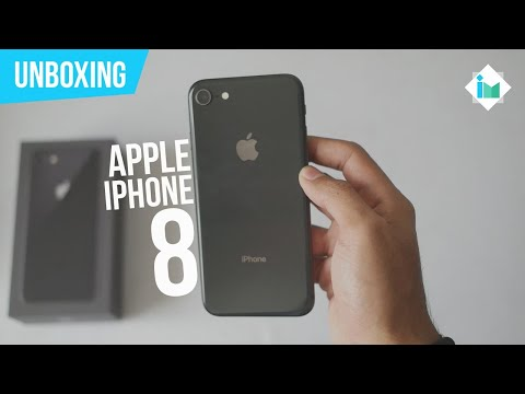 Apple iPhone 8 - Unboxing en español