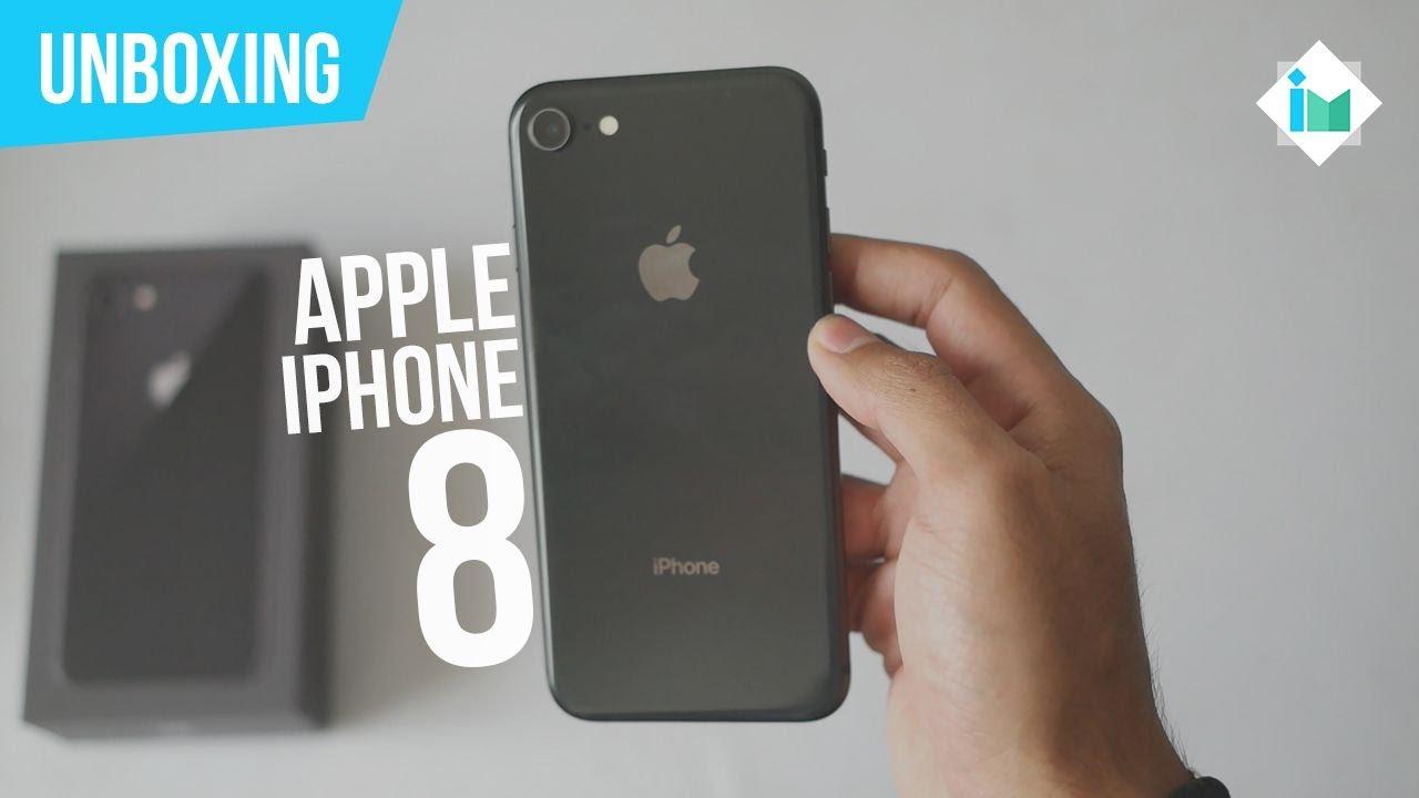 apple iphone 8 unboxing en espa ol youtube. Black Bedroom Furniture Sets. Home Design Ideas