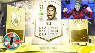 OMG I PACKED PELE!! MY BEST FIFA PACK EVER!! FIFA 20