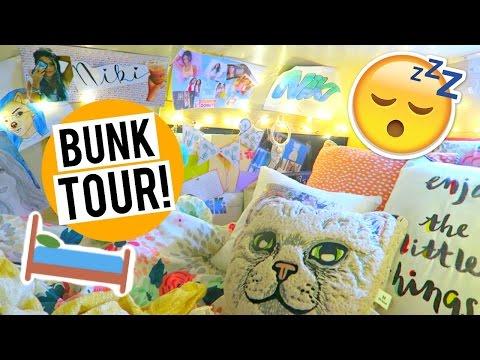 My Bunk Tour!! Girls Night In 2016!