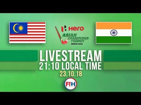 Malaysia v India | Men's 2018 Hero Asian Champions Trophy | FULL MATCH LIVESTREAM