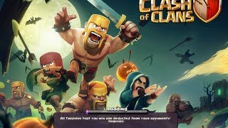 Clash of Clans - Halloween Update + Level 8 Mortar!