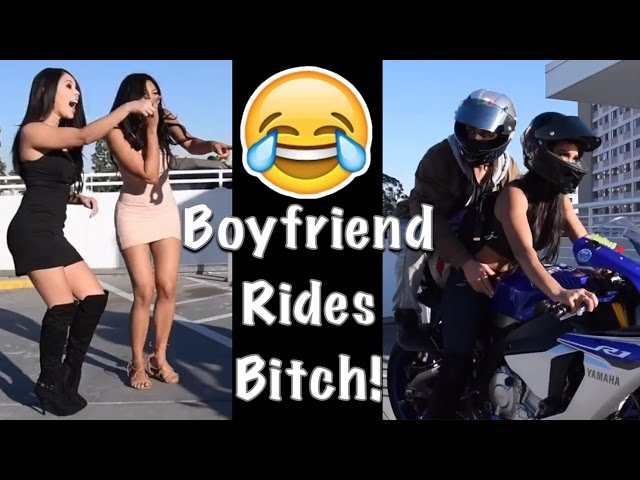 Boyfriend Rides bitch on 2015 Yamaha R1