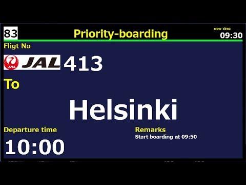 【P3Dv4.1 VATSIM】International Flight JAL413 Narita to Helsinki vol.2