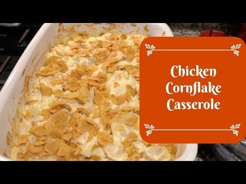 Chicken Cornflake Casserole