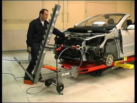 Стапель для легкого ремонта X-One от Celette