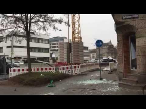 Explosion In Fürth