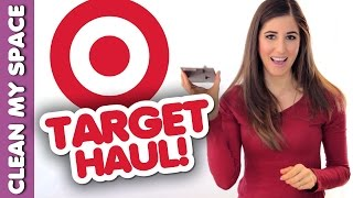 TARGET HAUL: How to Buy Cleaning Products on a Budget (Clean My Space) Thumbnail