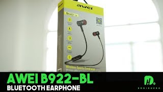 awei A980 Bl wireless sports earphones for calls and music