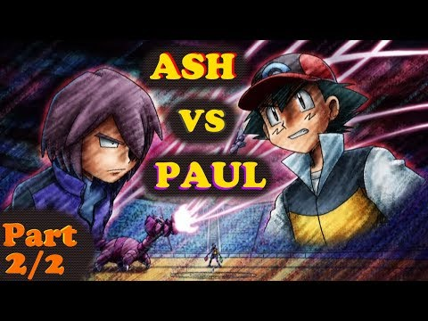 ☼▌SINNOH LEAGUE▐☼ Ash Ketchum vs Paul! ◄PART 2/2►