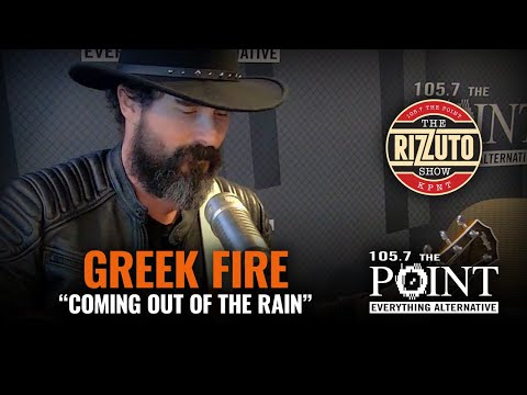 Greek Fire - Coming Out Of The Rain (LIVE) stripped down performance [Rizzuto Show]