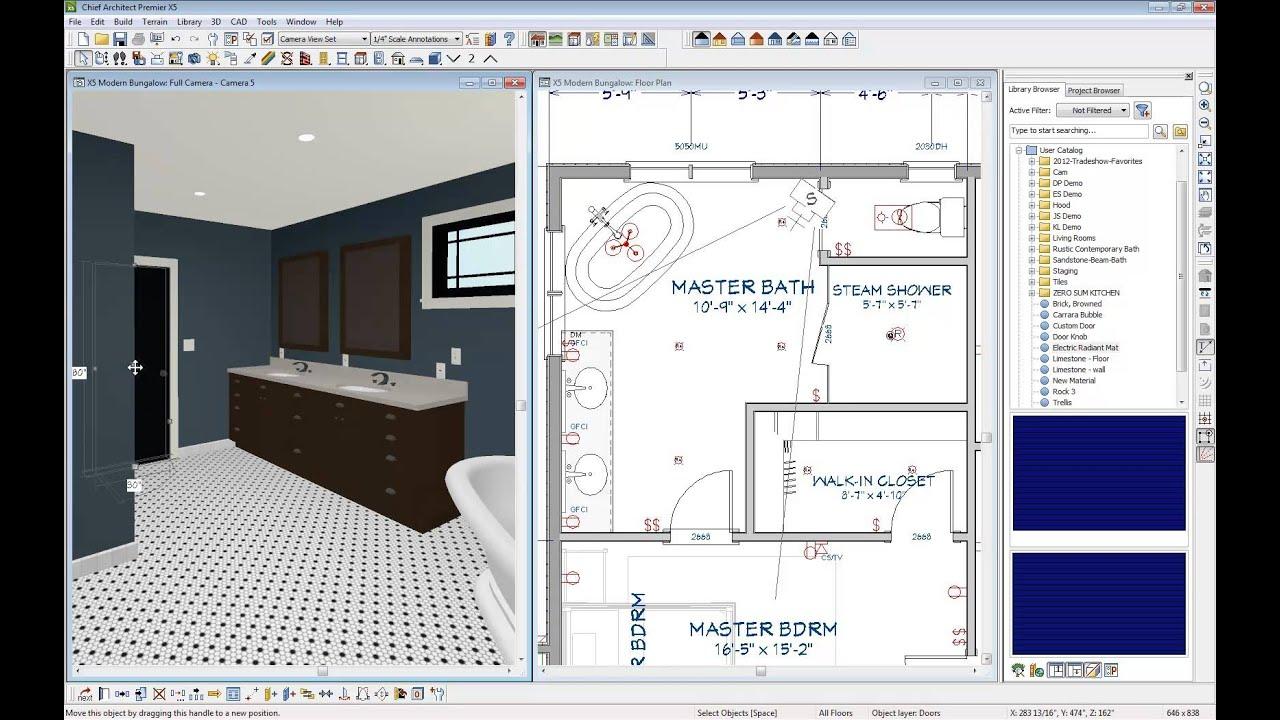 Chief architect quick tip radiant floor heating youtube for Radiant floor design