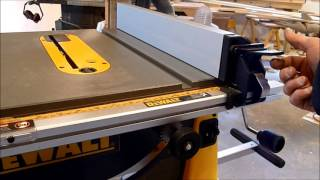 Review Dewalt Portable Table Saw Stand Models DW 744 XRS and DW7440RS large