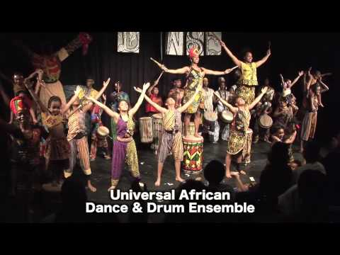"Universal African Dance & Drum Ensemble performance at ""Danse"""