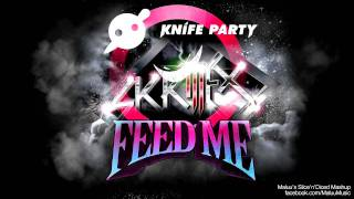 Feed Me vs. Knife Party vs. Skrillex - My Pink Reptile Party (Maluu