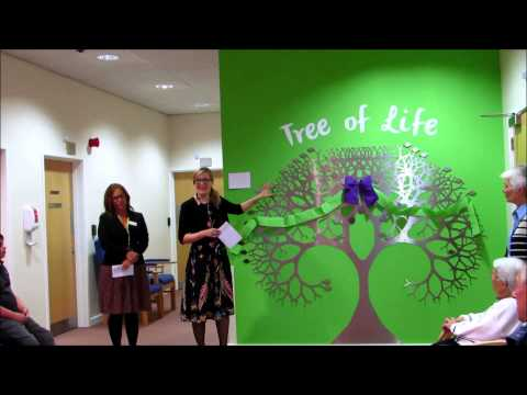 Watch the  unveiling of our Tree of Life by our Patron and actress Claire Price!