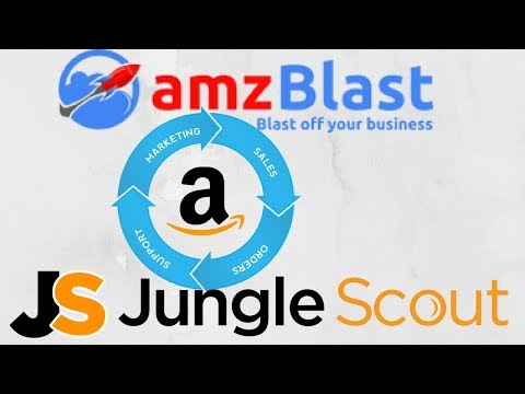 Amazon 3rd Party Services And Tools Review-SPN, Jungle Scout, Amz Blast ETC- HINDI 2018