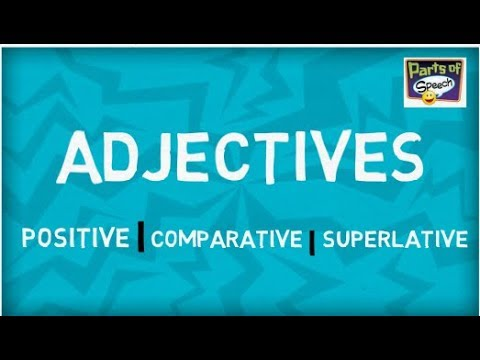 What is Adjectives | Degrees of Comparison