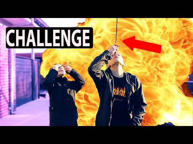 PINDE CHALLENGE MED BROR!