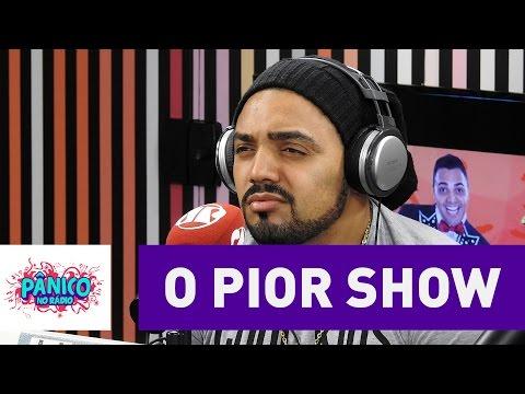 Tirullipa conta história hilária sobre seu pior show | Pânico