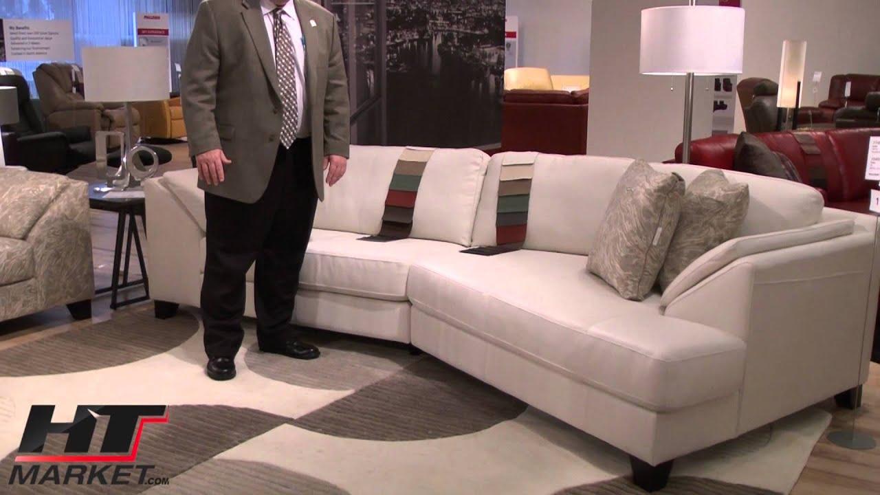 Palliser cato leather sofa and loveseats at htmarketcom for Palliser sectional leather sofa